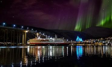 Fotogallery aurora boreale a Tromso