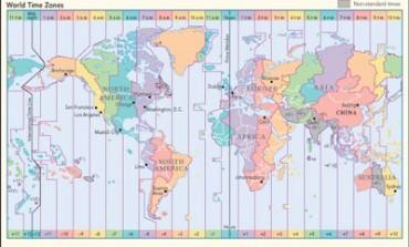 Cosa succede se si vogliono visitare tutti i sette continenti in un giorno ?