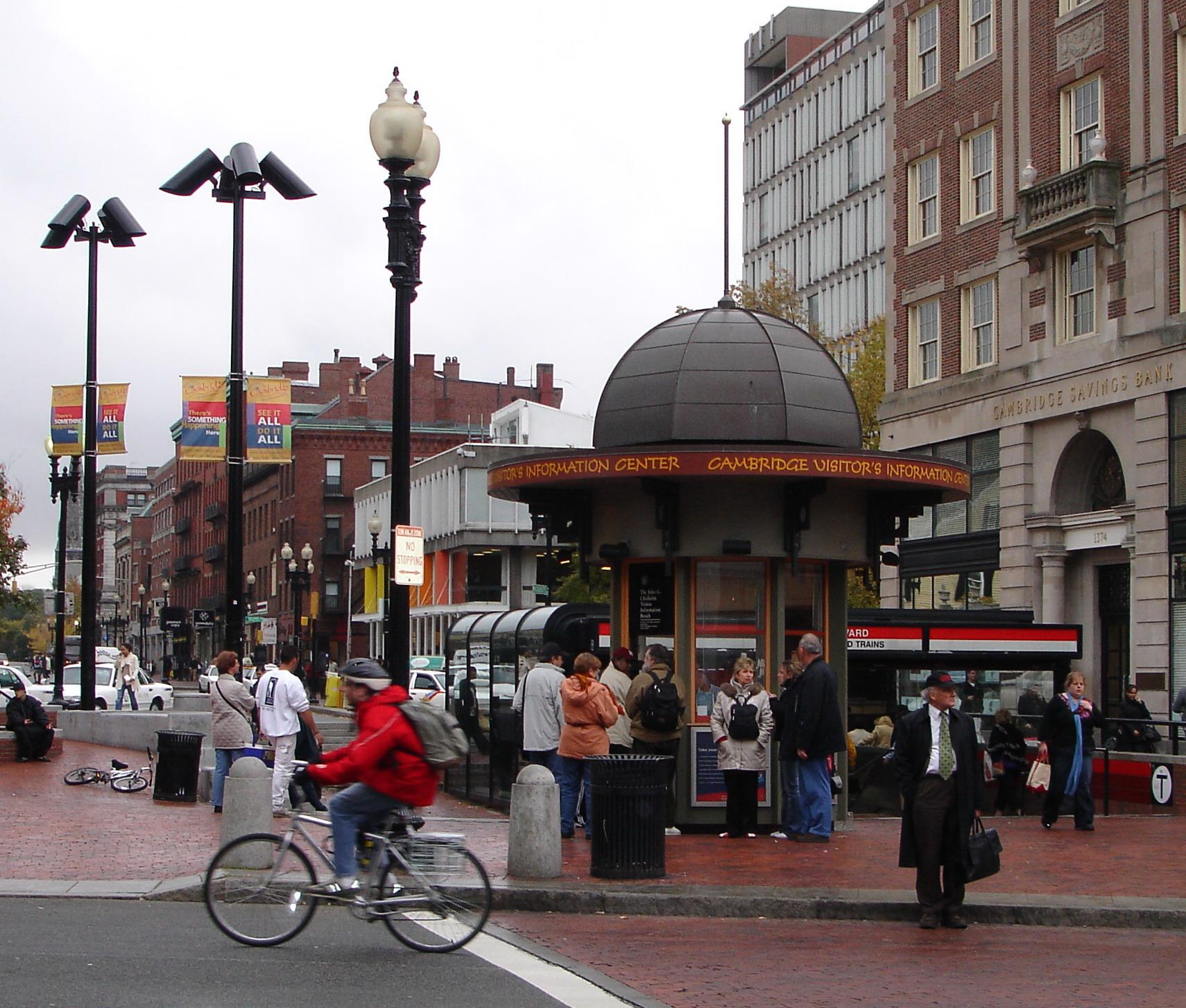 Harvard Square: tra cultura e vita sociale