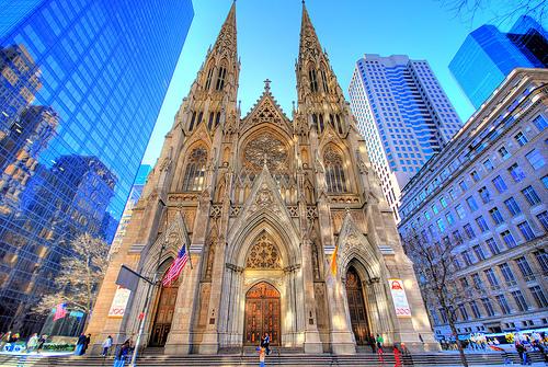 La Cattedrale di St Patrick a New York