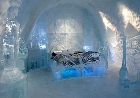 Un hotel tutto di ghiaccio: l'Icehotel di Jukkasjärvi