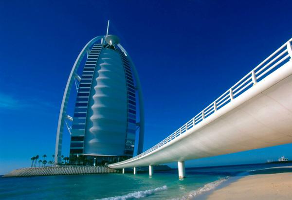 Burj al Arab Road 600x400