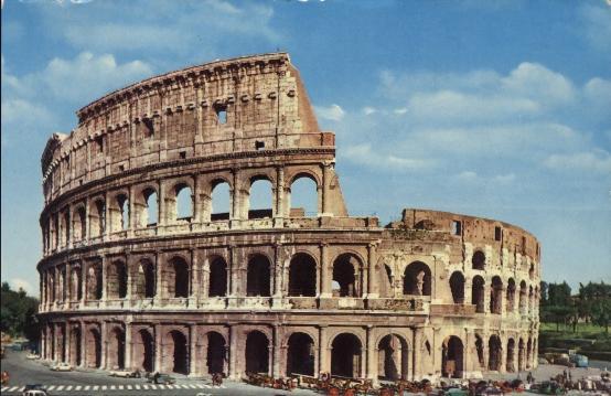 Colosseo roma inferriate