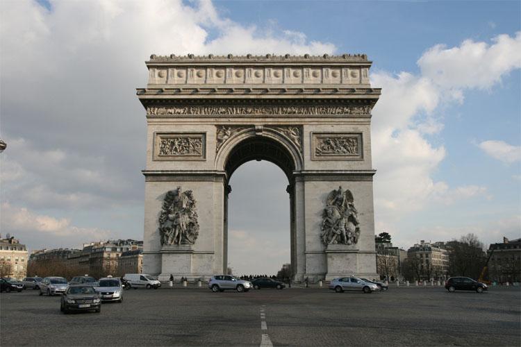 L 39 arco di trionfo a parigi viaggiamo for Edificio di 10000 piedi quadrati