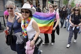 Il gay pride di Bruxelles