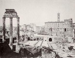 RomaForoRomanoAnno1880