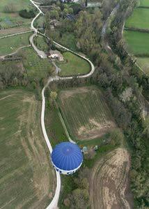 hot air balloon tuscany