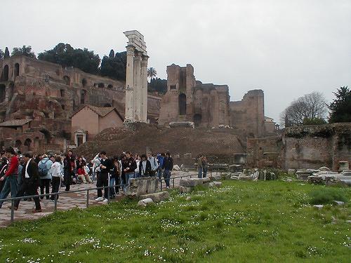 Il Tempio di Castore e Polluce