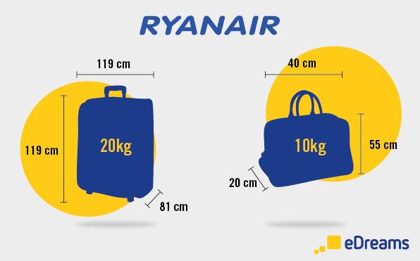 Quali sono misure bagaglio a mano Ryanair