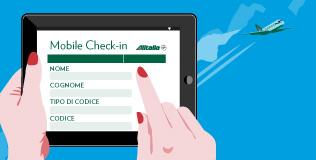Come fare check in online con Alitalia
