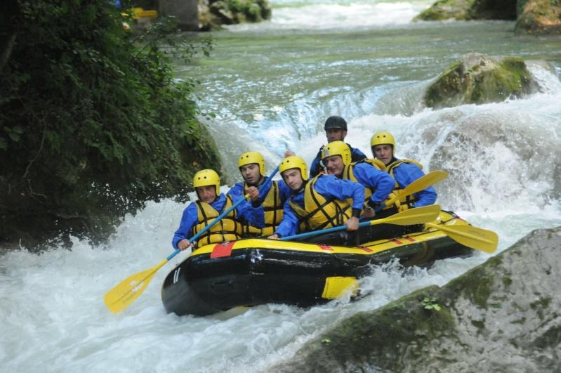 Come fare rafting alla Cascata delle Marmore