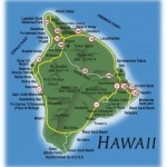 big island hawaii map