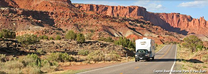 Percorrere la Utah's Route 143