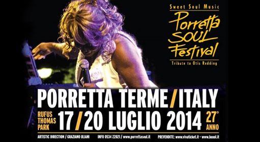 Qual è programma Porretta Soul Festival 2014