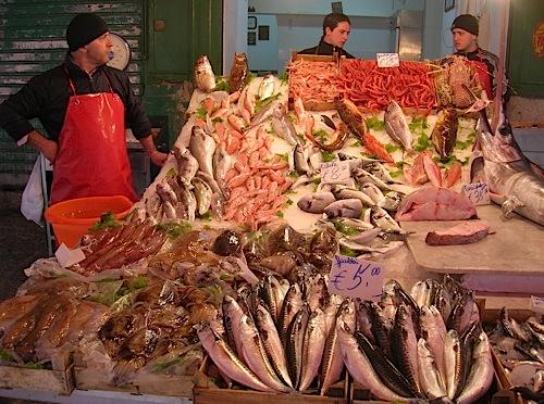 Mercato della vucciria a palermo viaggiamo for Comprare pesci online