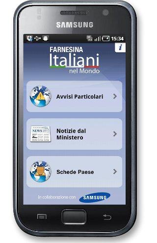 Come scaricare app Unità di crisi Farnesina