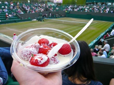 Cosa si mangia durante il torneo di Wimbledon