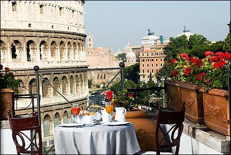 Cinque terrazze di lusso a Roma - Viaggiamo