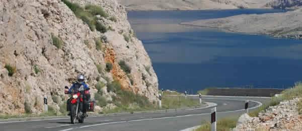 Quali sono itinerari in moto Croazia