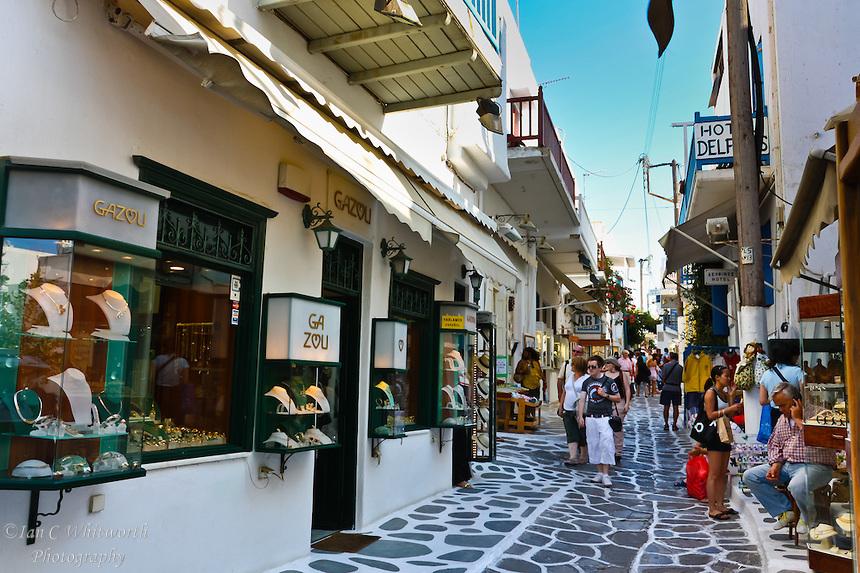 Dove fare shopping a Mykonos