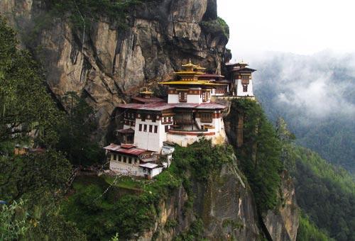Come visitare monastero di Taktsang in Bhutan