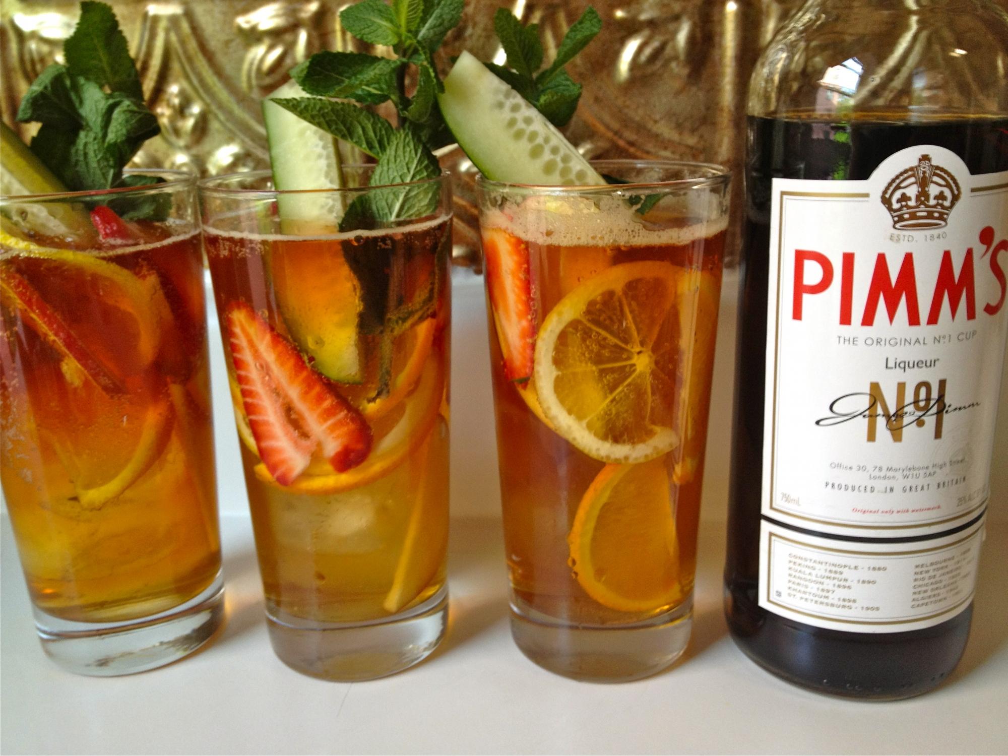 Il Pimm's Cup, il cocktail di Wimbledon - Viaggiamo