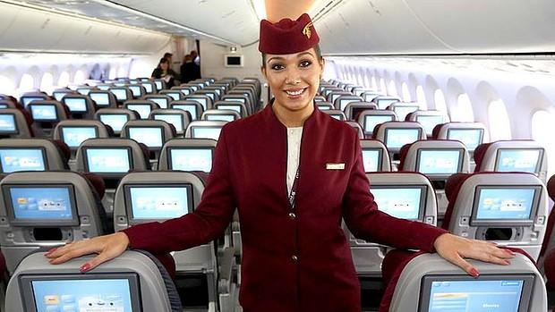 Come lavorare come hostess per Qatar Airways