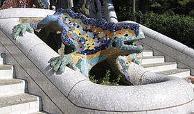 280px Parc Güell Dragon Restored