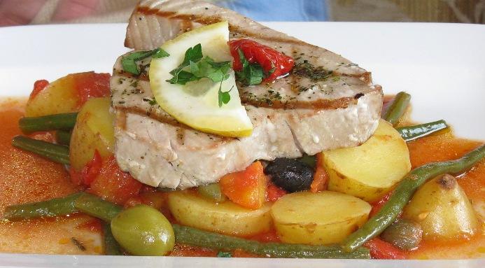 CIBO restaurant Howth tonno 2