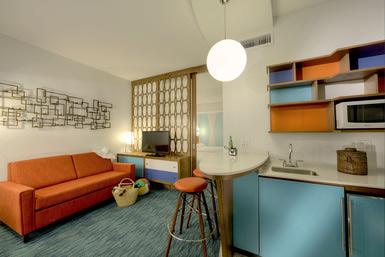 Camere e suite familiari al Cabana Bay Beach Resort di Universal Orlando