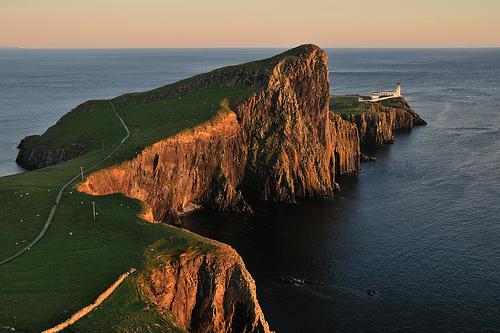 L'isola di Skye in Scozia