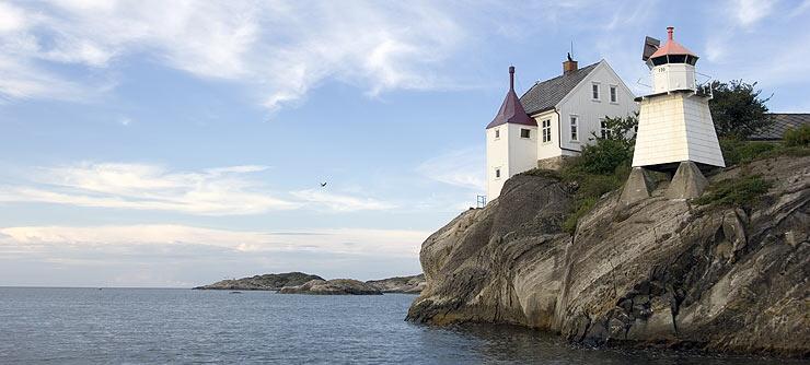 Rivingen Lighthouse Grimstad Norway 740