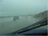 driving hazzard rain