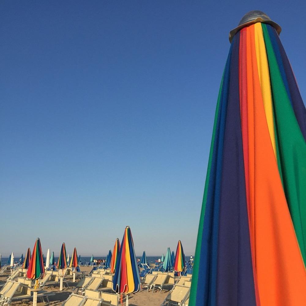 Spiagge vicini Rimini