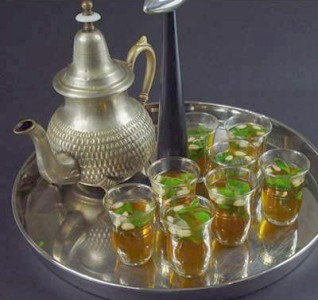 La ricetta del tè marocchino alla menta