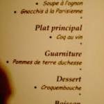 Come leggere un menù francese