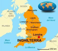 Le città inglesi: Liverpool, Edinburgo, Manchester