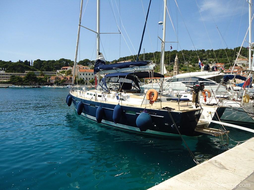 Barca a vela Croazia