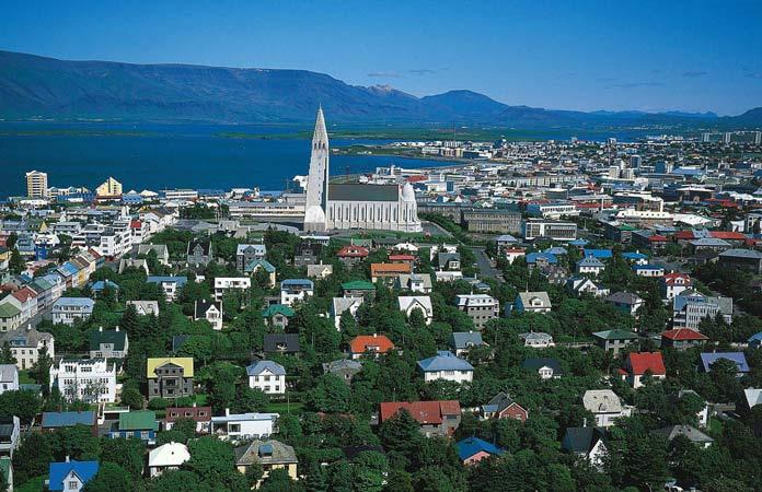 Reykjav k Areal hr