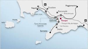 Come arrivare a Pompei