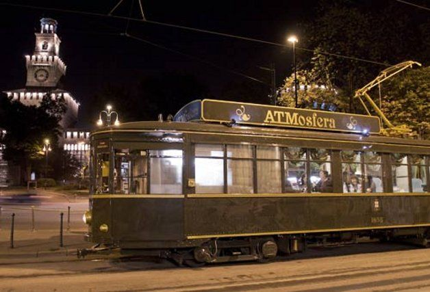 ATMosfera Restaurant Tram Milano