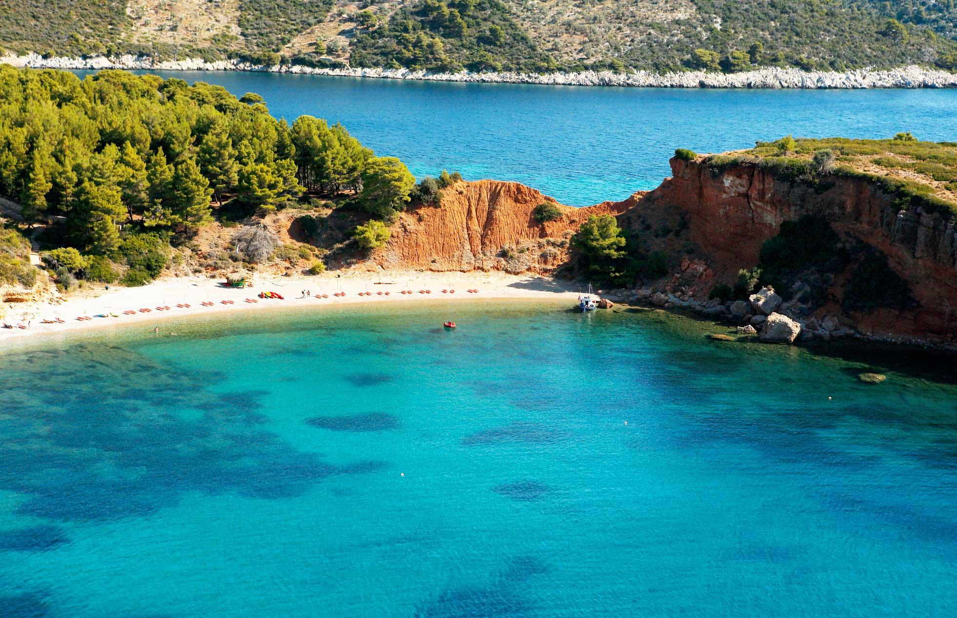 Quali sono le migliori spiagge di Alonissos - Viaggiamo