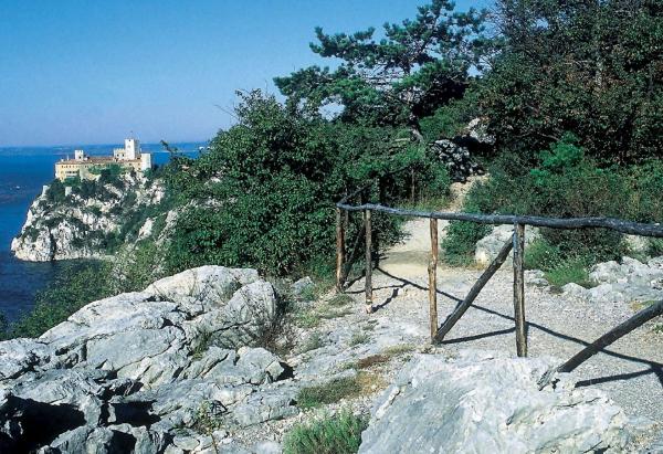 Itinierario Duino e sentiero Rilke Trieste