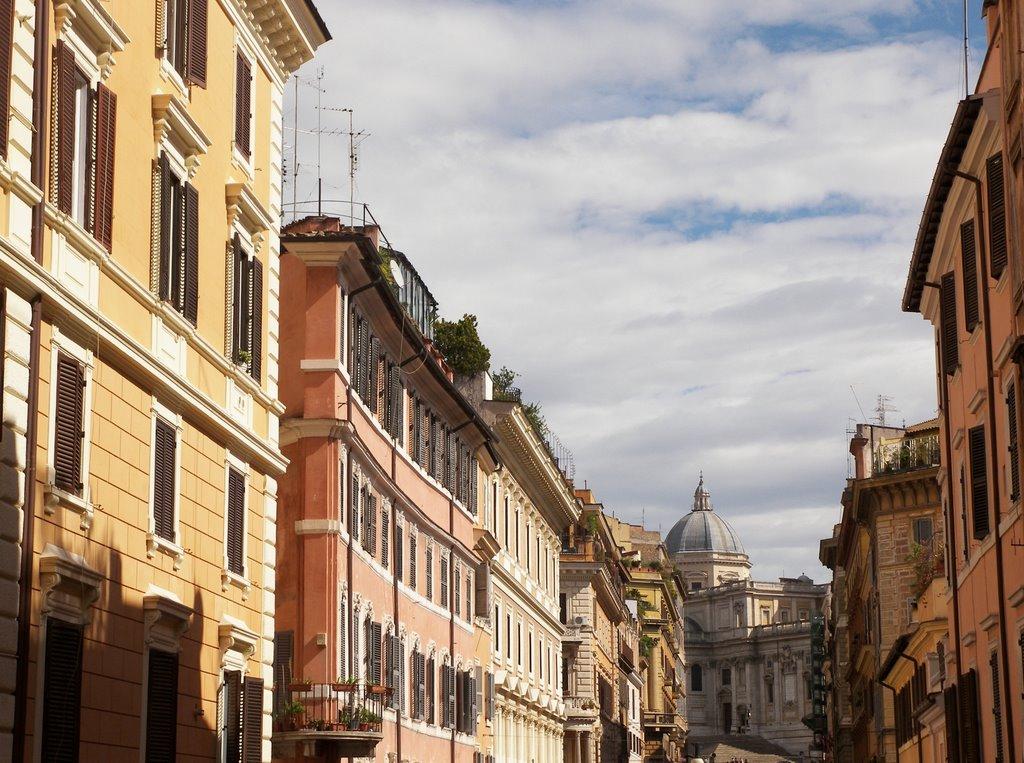 Tutti i ristoranti del Rione Monti di Roma