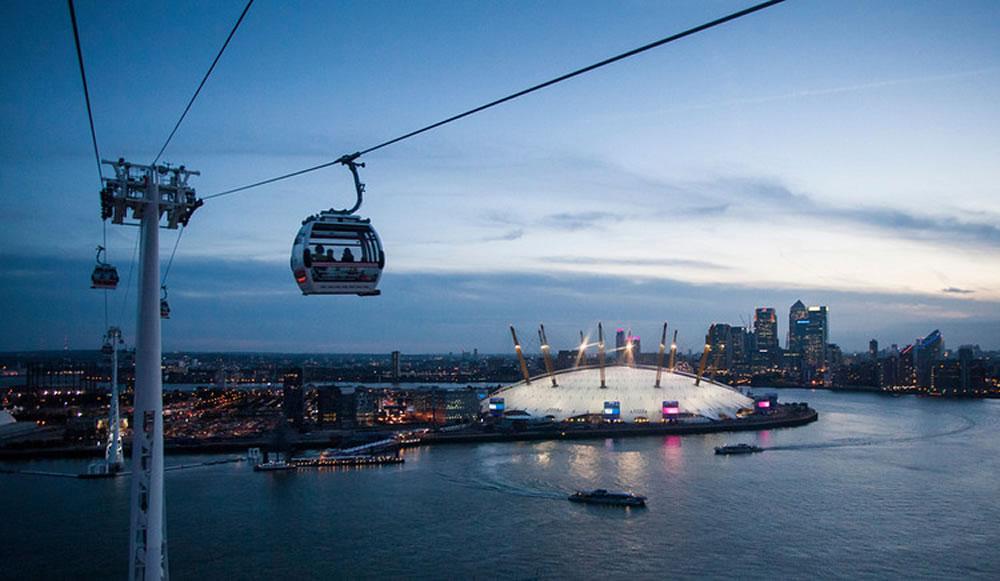 Qual è prezzo del biglietto The Emirates Cable Car di Londra