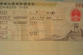 Quali sono documenti per viaggio in Cina