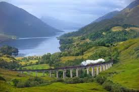 Le tappe della linea ferroviaria Jacobite in Scozia