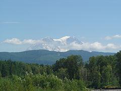 Le tappe della linea ferroviaria Mount Rainier Scenic Railroad a Washington