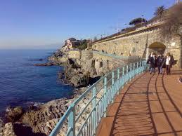 Passeggiata Nervi a Genova
