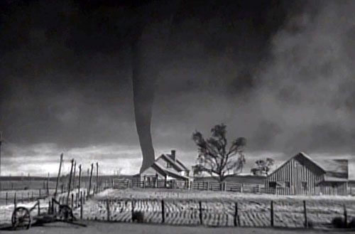 Wizard of Oz tornado